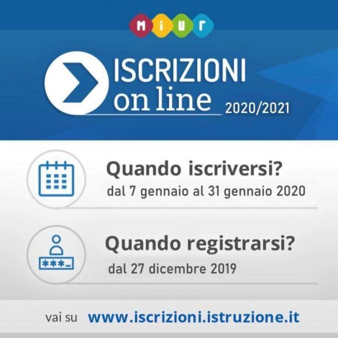 ISCRIZIONI ON LINE 2020/2021